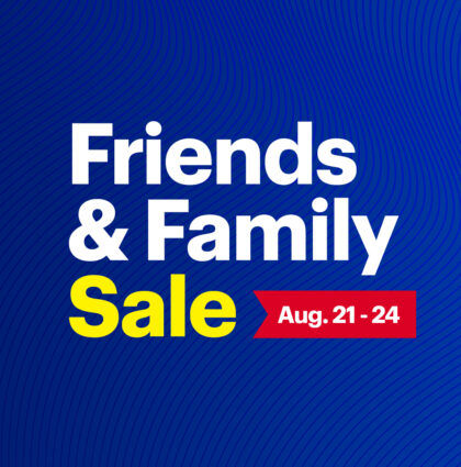 Best Buy Friends & Family Sale event